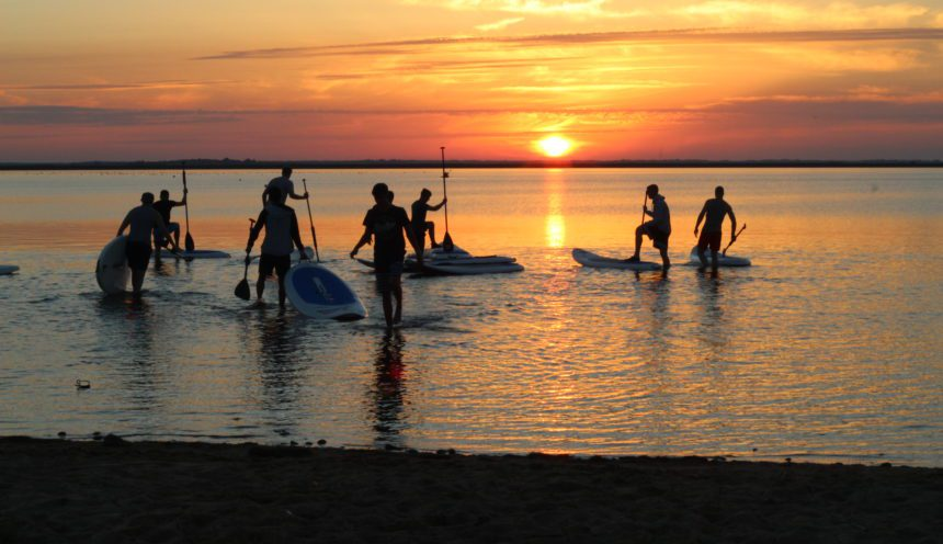 Sundowner SUP-Tour in Nethen